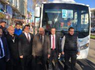 Muratlı – Balabanlı – Köseilyas Güzergahı Yolcu Taşımacılığı Hizmete Açıldı