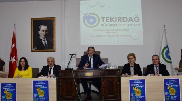 Büyükşehir Belediyesi İş Sağlığı ve Güvenliği Sloganını Belirlemeye Başladı
