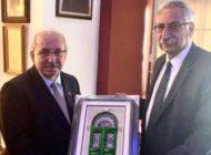 Başkan Albayrak'tan Girne Belediye Başkanı Güngördü'ye Ziyaret