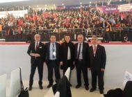 CHP'de Kurultay Günü. İlçe Başkanı ve Belediye Başkanı Kurultay'da