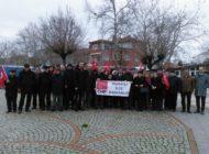 Alpullu Şeker Fabrikası'nda 'Özelleştirme' Protestosu