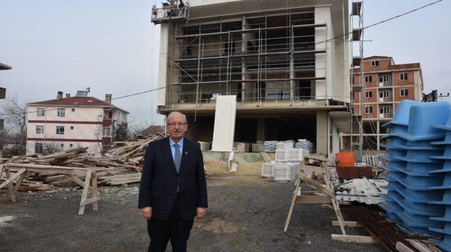 Başkan Albayrak İlçemizde Proje Alanlarını İnceledi