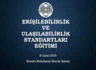Muratlı Belediyesinden Farkındalık ile Erişilebilirlik ve Ulaşılabilirlik Standartları Eğitimi