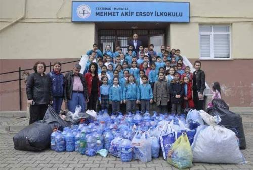 Mehmet Akif Ersoy İlkokulu Öğrencinlerinden Anlamlı Etkinlik