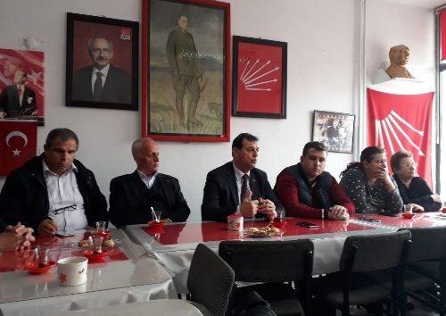 CHP Çarşamba Toplantısı Yapıldı