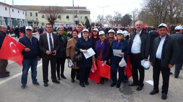 İşçi ve Çiftçi Alpullu'da Eylem Yaptı