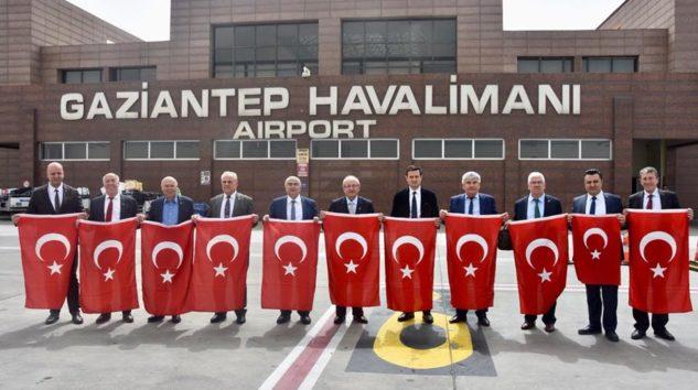 Tekirdağ Belediye Başkanlarından Mehmetçiğe Destek