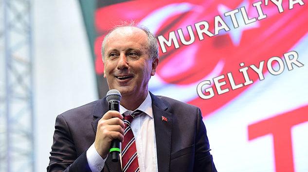 Muratlı'ya Geliyor