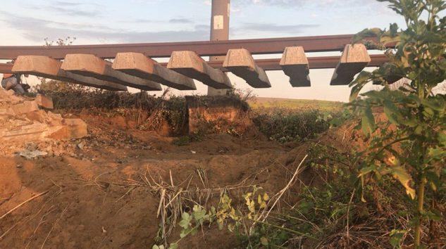 Facia; Tren Kazası