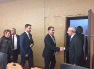 Chp Tekirdağ İl Örgütü Kılıçdaroğlu'nu Ziyaret Etti